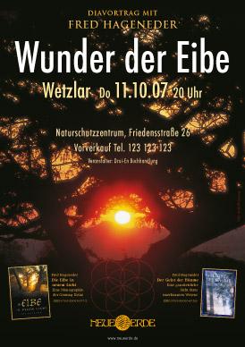 Poster Vortrag Eibe