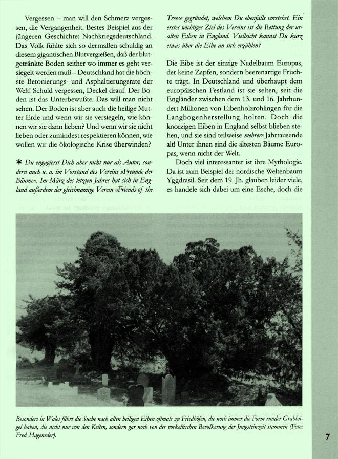 Hageneder-Interviewseite Scan 3 von 7