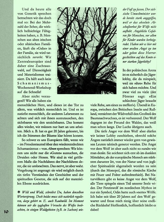 Hageneder-Interviewseite Scan 6 von 7