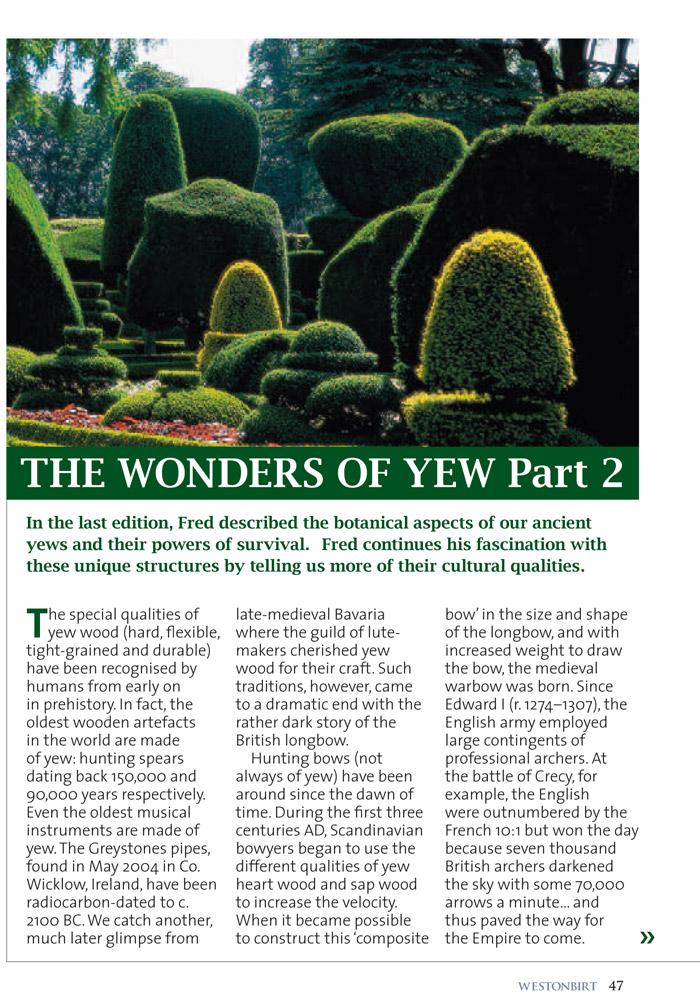 Holfordiana-Artikel Seite 1 von 4